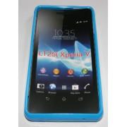 Силиконов гръб ТПУ за Sony Xperia V LT25i Син