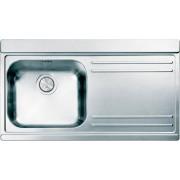 apell Ir901irsc Lavello Cucina 1 Vasca Incasso Con Gocciolatoio Dx Larghezza 90 Cm Materiale Acciaio Inox Finitura Satinata - Ir901irsc Serie Iris