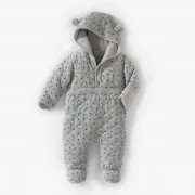 La Redoute Collections Baby-Overall mit Kapuze