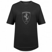 PUMA x Ferrari Big Shield Dames T-shirt 577845-01 - zwart - Size: Extra Small