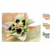 Csomagoló fólia virággal 1X25m rózsaszín