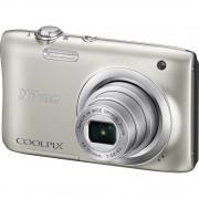Nikon Coolpix A100 Silver srebreni digitalni kompaktni fotoaparat VNA970E1 VNA970E1