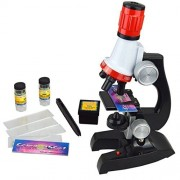 Life-Tandy Student Science for kids microscope Beginner Microscope Kit LED 100X, 400x, and 1200x Magnification children Includes Accessory Set
