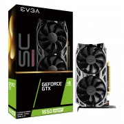VGA EVGA GTX 1650 SUPER SC ULTRA GAMING, nVidia GeForce GTX 1650 SUPER, 4GB, do 1755MHz, 24mj (04G-P4-1357-KR)
