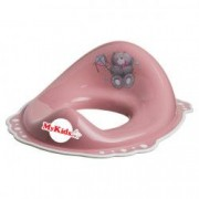 Reductor wc copii MyKids Bears Pink-White antialunecare
