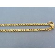 Zlatá retiazka žlté zlato plné a voľné očka DR501696Z