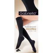 Gabriella - Classic opaque knee highs Microfibre