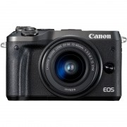Canon EOS M6 Zwart + EF-M 15-45mm f/3.5-6.3 IS STM