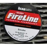 FireLine 6 LB - Smoke / mörkgrå, 50 YD
