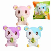 Oriker Squishy Tori Hamster 12cm Soft Sweet Slow Rising Original Packaging Collection Gift Decor Toy