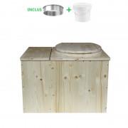 Toilette sèche - La Cube Bac complète