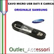 Cavo Dati e Alimentazione Micro USB Samsung Originale NERO SAM-0296 1 METRO