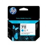 Tinteiro HP 711 - 3 x Azul Ciano- CZ134A