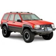 Aripi Bushwacker 4inch/10.5cm POCKET STYLE CUT-OUT Negru Mat pt. 93-98 Jeep Grand Cherokee ZJ