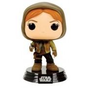 Star Wars Rogue One POP! Vinyl Bobble-Head Figure Jyn Erso Hooded 10 cm