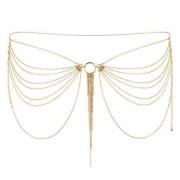 Bijoux Indiscrets (SP) Łańcuszek na Biodra Bijoux Indiscrets Magnifique Złoty 100% DYSKRECJI BEZPIECZNE ZAKUPY