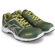 Reebok RUN STREAM Men Running Shoes(Olive, Yellow)