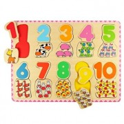 Puzzle Numere si culori