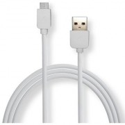 Vivo cro usb cable usb charging cable data cable cro usb data cable White data cable