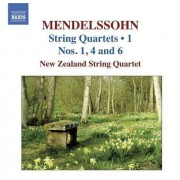 F. Mendelssohn-Bartholdy - String Quartets Vol.1 (0747313000173) (1 CD)