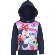 Disney Navy Minnie Mouse sweater met capuchon voor meisjes