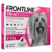 Frontline Tri-Act Pipetas para perros protección total 2-5 kg