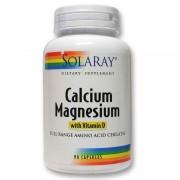 Secom Calciu, Magneziu cu Vitamina D x 90 capsule