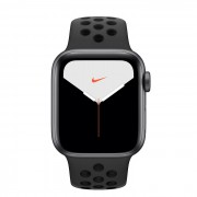Apple Watch Nike Series 5 GPS, 40mm Space Gray Aluminium Case with Anthracite/Black Nike Sport Band - умен часовник от Apple