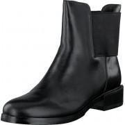 Clarks Marquette Wish Black Leather, Skor, Kängor & Boots, Chelsea Boots, Svart, Dam, 38
