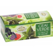 Ceai verde cu fructe de padure Belin 20 plicuri, Nova Plus