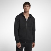 Sweatà capuche Hurley Hollowknit Fleece Full-Zip pour Homme - Noir