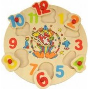 Jucarie educativa Big Jigs Clown Clock