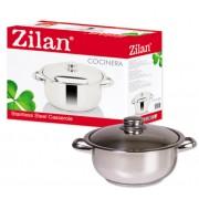Oala Inox cu Capac 2L Zilan Cocinera ZLN7239
