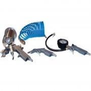 Комплект пневматични инструменти GUDE, 4 части