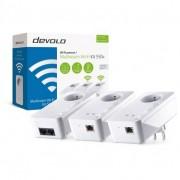 DEVOLO Pack CPLWifi DLAN 550 Multiroom (3 prises dont 1 Wifi)