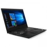 Лаптоп Lenovo ThinkPad E480, Intel Core i7-8550U (1.8GHz up to 4.0GHz, 8MB), 8GB DDR4 2400MHz, 1TB HDD 5400 rpm, 14 инча FHD( 1920 x 1080), AG, IPS, 2