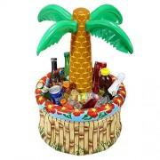WIDMANN 04865-Inflatable Palm Tree Beverage Cooler