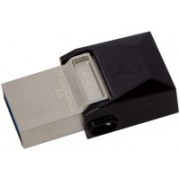 Kingston OTG DataTraveler MicroDuo USB 3.0 64 GB Pen Drive(Silver)