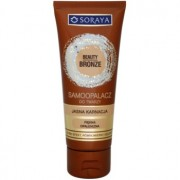 Soraya Beauty Bronze crema autobronceadora facial para pieles claras 75 ml