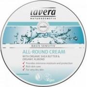 Crema hidratanta Lavera multifunctionala cu unt de shea Basis Sensitiv 150ml
