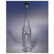 Láhev s foukaným ovocem - 0,5 litru