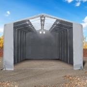 taltpartner.se Tälthallar 8x12m PVC 550 g/m² grå vattentät