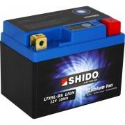Shido Motorradbatterie Shido Lithium Motorradbatterie LTX5L-BS, 12V, 1,6Ah (YTX5L-BS)