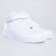 Nike air force 1 mid 07 White/White