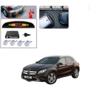 Auto Addict Car Silver Reverse Parking Sensor With LED Display For Mercedes Benz GLA-Class