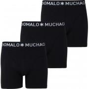 Muchachomalo Boxershorts 3er-Pack Schwarz 185 - Schwarz Größe XL