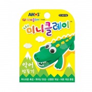 SET CREATIV PLASTILINA ICLAY CROCODIL - AMOS (AM-2702)