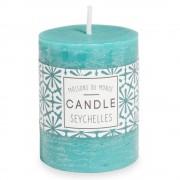 Maisons du Monde VOTIVE blue candle