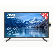 Cello C3220F 32 Inch HD LED TV With DVD Player and Freeview T2 HD new 2020 model