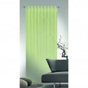 Perdea cu şnur Albani Cord, verde, 90 x 245 cm